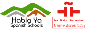 Habla Ya, Instituto Cervantes and DELE Logo
